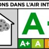 Etykieta emisji farb we wnętrzach