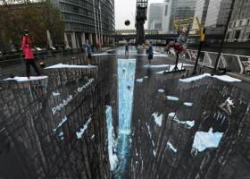 Malarstwo ulicy, najdłuższy obraz 3D