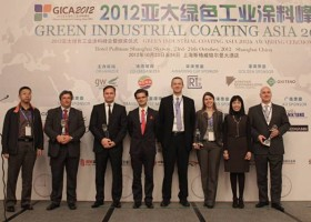 Laury dla Sachtleben na Green Industrial Coatings Asia 2012