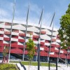 Stadiony na Euro 2012 malowane