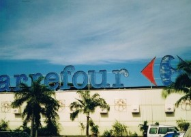 Carrefour testuje chłodne dachy
