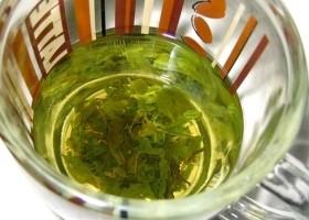 Nanocząstki srebra z zielonej herbaty