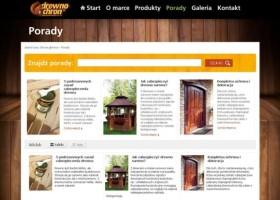 Drewnochron i nowa strona internetowa