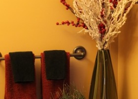 Łazienka i farby