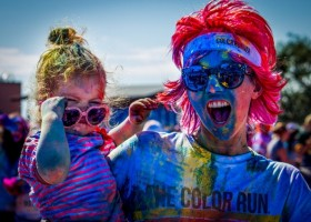 Kolorowy bieg Color Run