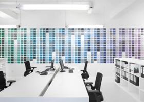 Paleta RAL Design… na ścianie