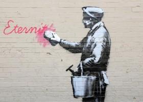 Banksy uratowany dzięki farbie anty-graffiti