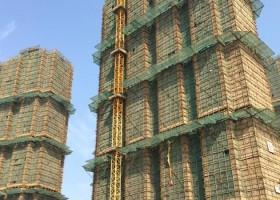 Farba AkzoNobel na kompleksie budowlanym w Chinach
