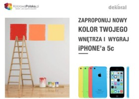 Dekoral – konkurs z iPhonem w tle