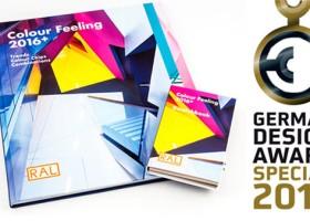 Prestiżowa nagroda za RAL Colour Feeling 2016+
