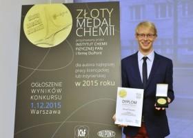 Złoty Medal Chemii 2015 – znamy zwycięzców!