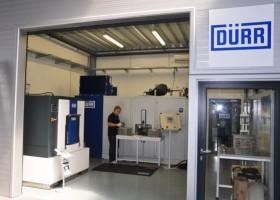 Centrum Dürr w Tychach testuje procesy mycia