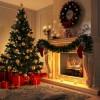 Udekoruj kominek na Święta!