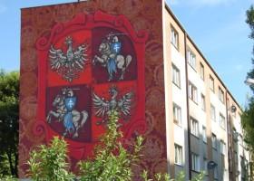 """Unia Lubelska"" – nowy mural w Lublinie"