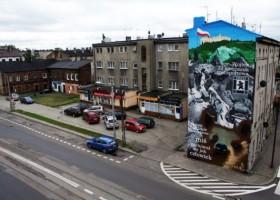 Akcja muralowa KABE w Pabianicach