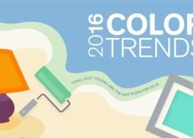 Niebieski i zielony – trendy 2016 dla zestresowanych
