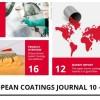 Październikowy European Coatings Journal już jest!