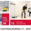 Listopad w European Coatings Journal – podłogi i biocydy
