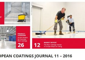 Listopad w European Coatings Journal – podłogi i biocydy