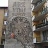 Miasto-Idea na nowym muralu w Krakowie