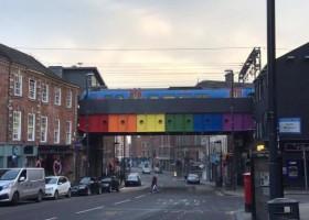 Tęczowy most w Leeds
