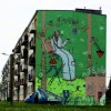 Akcja muralowa Kabe: Mędrzec-Wędrowiec w Pszowie