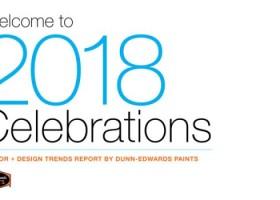 Świętujemy! – trendy 2018 Dunn-Edwards
