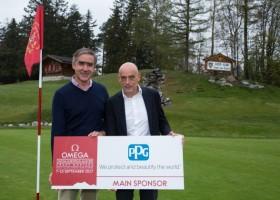PPG sponsorem turnieju Omega European Masters