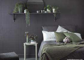 Ciemne ściany w sypialni – nie taki diabeł straszny…