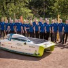 Cromax na bolidzie Punch Powertrain Solar Team