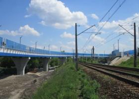 Farby Jotun na łącznicy kolejowej w Krakowie