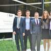 Młodzi zwycięzcy konkursu naukowego BASF