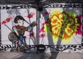 """Murale w Meksyku z okazji premiery filmu """"Coco"""""""