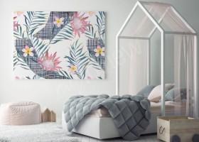 Jednokolorowe, nudne ściany? Obrazy z kwiatami ożywią aranżację!
