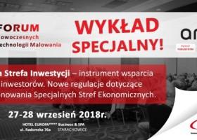 Polskie Strefy Inwestycji – wykład na Forum NTM