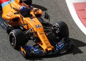 Przemalowany bolid McLaren dla Fernando Alonso