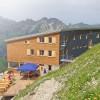 Waltenbergerhaus w Alpach z produktami Adler