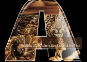 Złocisty Samochodowy Kolor Roku 2019 Axalty