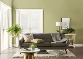 Kolor Roku 2020 Behr: subtelna zieleń łąki