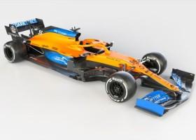 Bolid McLaren na sezon 2020 z lakierami AkzoNobel
