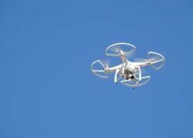 Dron-malarz rozwiąże problem bezpieczeństwa