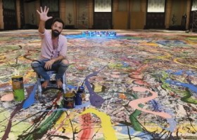 Największy obraz na świecie malowany farbami Dulux