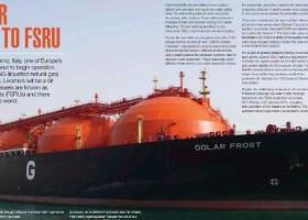 Pokrycia International na FSRU z Livorno
