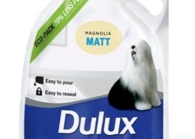 Testy ekologicznych opakowań Dulux w UK (70% mniej plastiku)