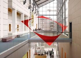 Geometria i farby w sztuce miasta