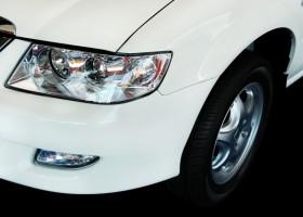 Biele i brązy na niemieckich samochodach