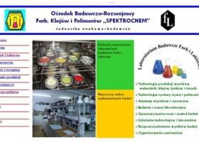 Nowa strona ośrodka badawczego Spektrochem