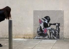 Murale na salony – Banksy wart milion dolarów