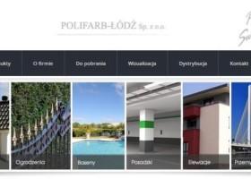 Polifarb Łódź – nowa strona internetowa