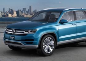 Perłowy błękit BASF na VW CrossBlue